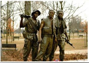 Vietnam Veterans Memorial Statue