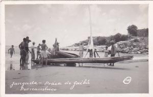 RP: PERNAMBUCO, Brazil, 20-30s; Canoe on beach
