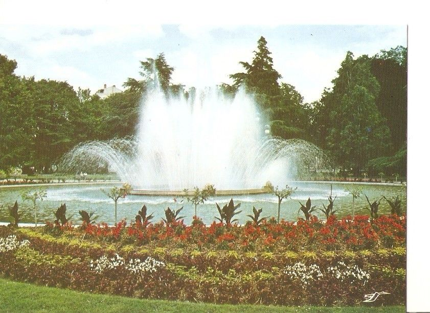 Postal postcard 040611 toulouse h g le jardin du grand rond bassin et hippostcard for Jardin grand rond toulouse