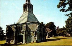 England Galstonbury Abbey The Abbot's Kitchen