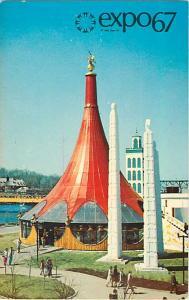 La Pavillon De L'Ethiopie Expo67, Montreal, Quebec, Canada, Chrome