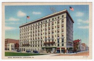 Lancaster, PA, Hotel Brunswick