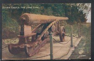 Kent Postcard - Dover Castle - The Long Gun   T9499