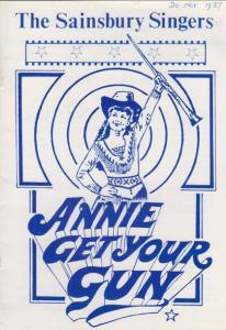 Reading Annie Get Your Gun Musical The Sainsbury Singers Palmer Hall Theatre ...