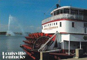Sternwheeler Belle Of Louisville On Ohio River