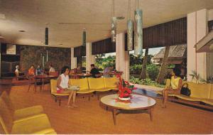KAUAI, Hawaii; Guest Lobby Lounge, Kauai Surf Hotel, 40-60s