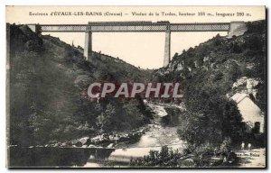 Postcard Old Surroundings Evaux les Bains Creuse Tardes Viaduct