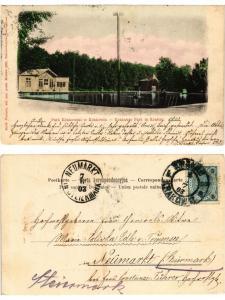 CPA KRAKOW KRAKAU Park Krakowski. Krakauer Park. POLAND (371132)