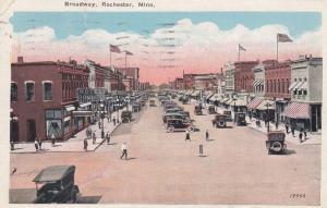 ROCHESTER, Minnesota, PU-1926; Broadway, Hotel Rommel