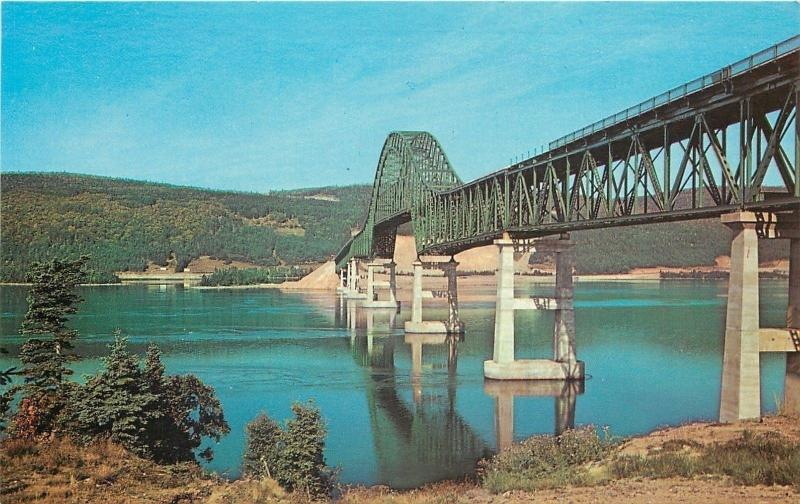 Cape Breton Nova Scotia~Bras d'Or Bridge on Trans Canada Highway~1961