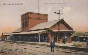 Recuerdo de Paysandu , URUGUAY , 00-10s ; Estacion del Ferro-Carril