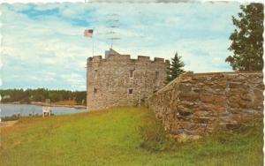 Fort William Henry, at Pemaquid Beach, Maine, 1967 used P...