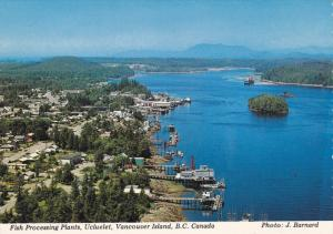 Fish Processing Plants , UCLUELET , Vanncouver Island , B.C. , Canada , 50-70s