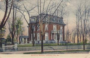 Governors Mansion, Jefferson City, Missouri, PU-1909