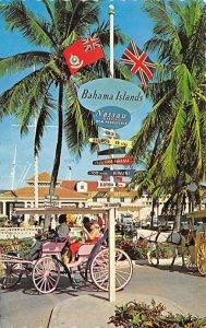 Barbados West Indies Post card Old Vintage Antique Postcard Crossroads of Bah...