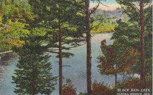 Scenic view, Black Bass Lake, Eureka Springs, Arkansas,   30-40s