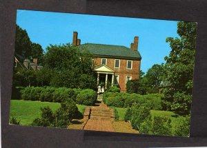 VA Kenmore Plantation George Washington F Lewis Fredericksburg Virginia Postcard