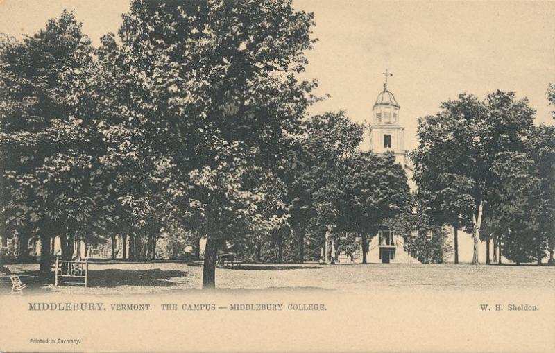 The Campus at Middlebury College VT, Vermont - UDB - Tuck
