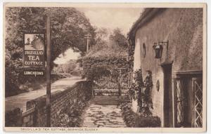 Sussex; Drusillas Tea Cottage, Berwick PPC Unposted c 1930's