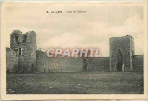 Old Postcard-Puivert The Chaeau -Pote Main