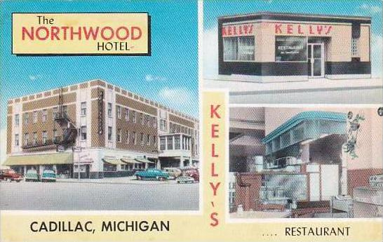 Michigan Cadillac Northwood Hotel &amp  Kelly's Restaurant