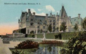 BILTMORE, North Carolina, 1900-10s ; Biltmore House and Lake