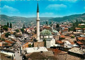 Bosnia and Herzegovina Sarajevo Bascarsija Baščaršija old bazaar & mosques