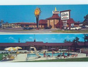 Unused Pre-1980 MOTEL SCENE Santee - Near Orangeburg & Summerville SC B6195