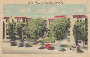 BLYTHEVILLE , Arkansas, 1950 ; Hotel Nobel