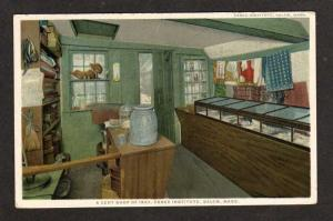 MA Cent Shop Essex Institute SALEM MASS Postcard PC