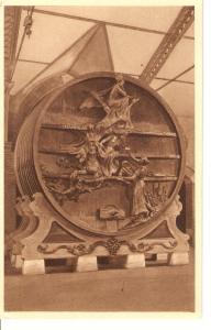 Postal 036265 : Le grand foudre de 750 hectolitres (Sculpte par Galle)