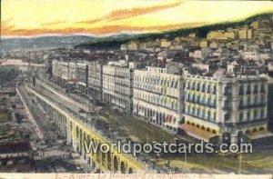Le Boulevard et les Quais Alger Algeria, Africa, Unused