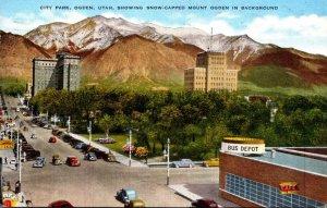 Utah Ogden City Park 1944