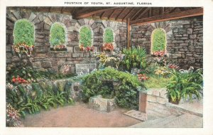 Postcard Fountain of Youth, St. Augustine, Florida Unposted ME3.