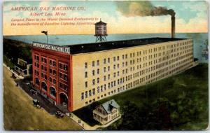 Albert Lea, Minnesota Postcard AMERICAN GAS MACHINE CO. Factory View c1910s