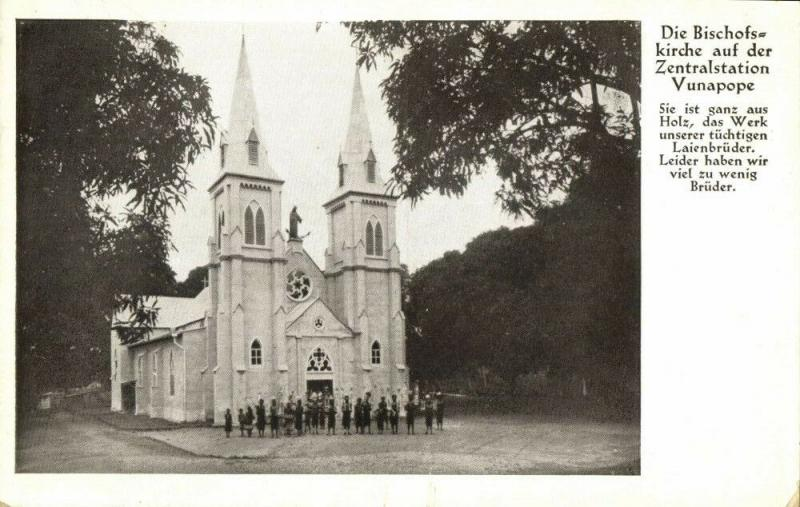 german new guinea, ENB, Kokopo, VUNAPOPE, Missionary Mission Church (1910s)