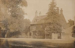 RP: THORNEY , England , 1900-10s ; Vicarage