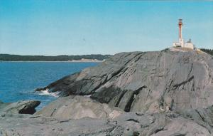 Scenic view,  Yarmouth Lighthouse,  Nova Scotia,  Canada,  40-60s