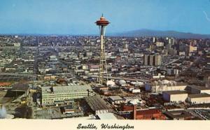 WA - Seattle. Panoramic View