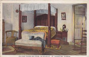 Old Don Toledo Bed Room,  St. Augustine,  Florida,  00-10s