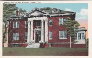 Alabama Albany Benevolent Society Hospital sk2832
