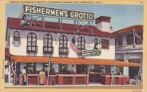 Famous Fishermens Grotto Fishermans Wharf San Francisco California
