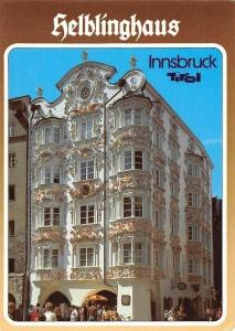 Innsbruck Helblinghaus Tirol House Terrace Street Promenade