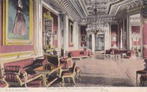 England Windsor Castle The Crimson Drawing Room