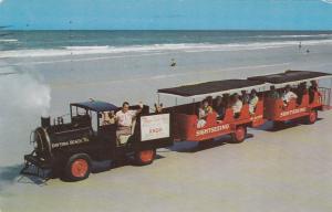 Miniature Train - Tram , DAYTONA BEACH , Florida , PU-1958