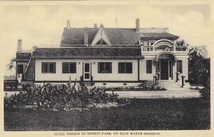 Exterior, Hotel Mirwin at Mirwin Park,on Blue Water Highway, Ontario, Canada,...