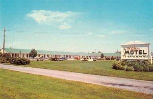 Willin Motel Rehoboth Beach  Delaware Roadside Vintage Postcard RR514