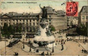 CPA PARIS 11e - Place de la République (77145)