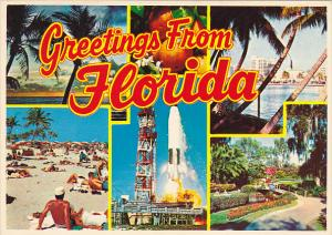 Greetings From Florida Multi View