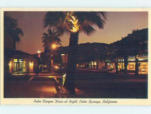 Pre-1980 SHOPS ON PALM CANYON DRIVE Palm Springs California CA hn5643